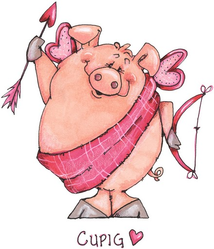 To Love Pigs As If They Werent Great Enough Already I Hope Everyone Has A Wonderful Valentines Day Tomorrow Filled With And Many Hearts